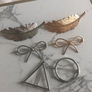 Jewelry - SET OF 6 hair accessories